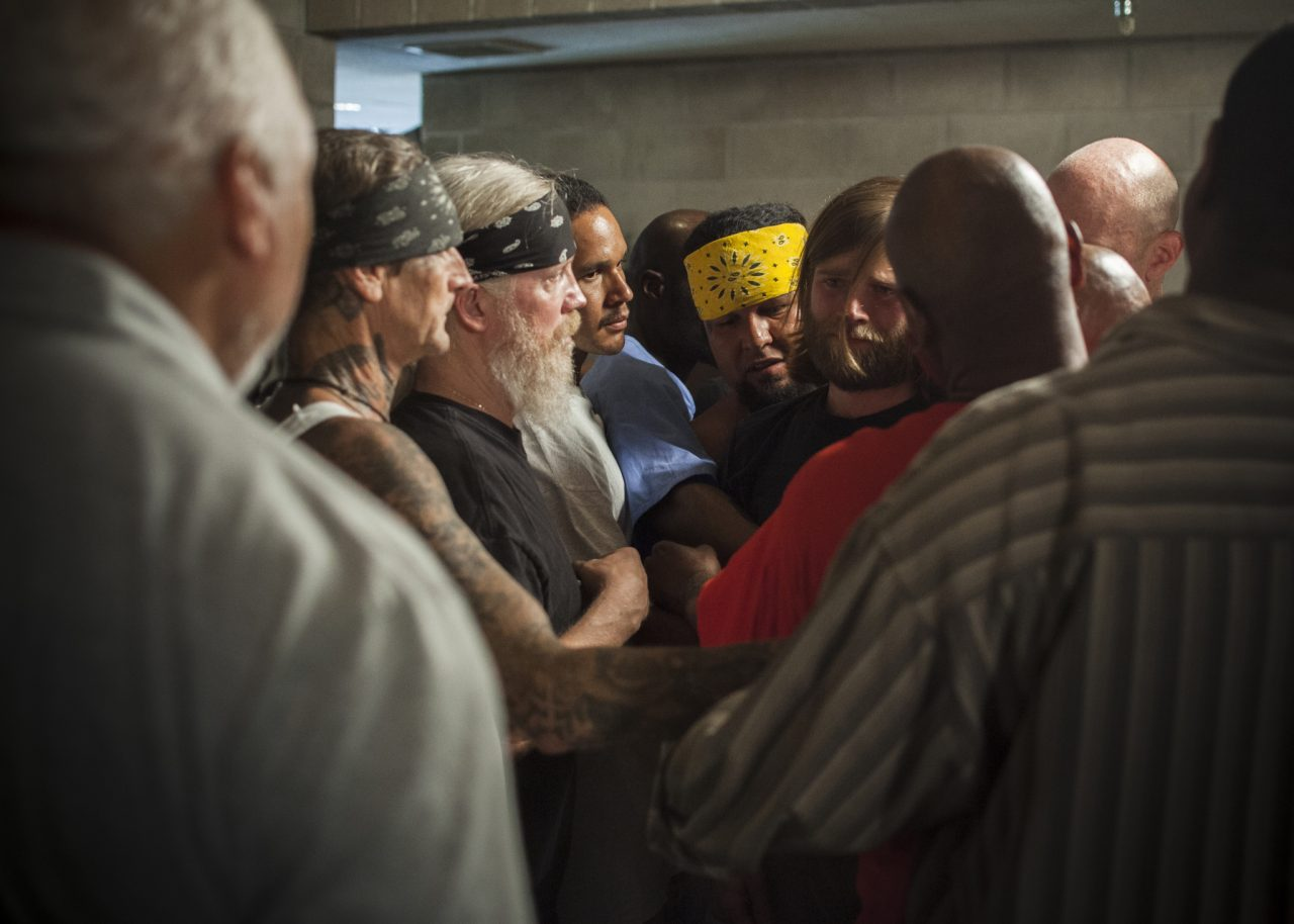 Documentary The Work takes a cinema vérité look at prison therapy (Photo: Dogwoof/Joe Wigdahl)