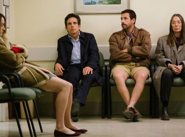 Adam Sandler in The Meyerowitz Stories.