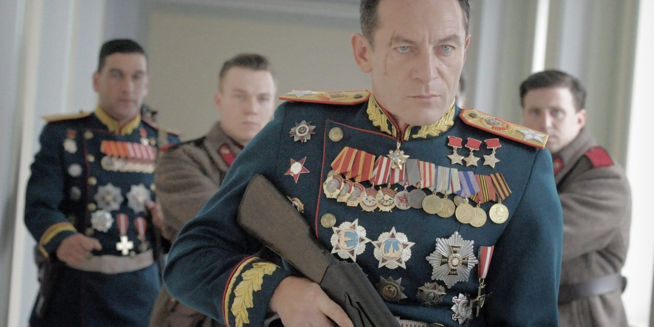 Jason Isaacs as Georgy Zhukov. Photo: Entertainment One Films/ Gaumont
