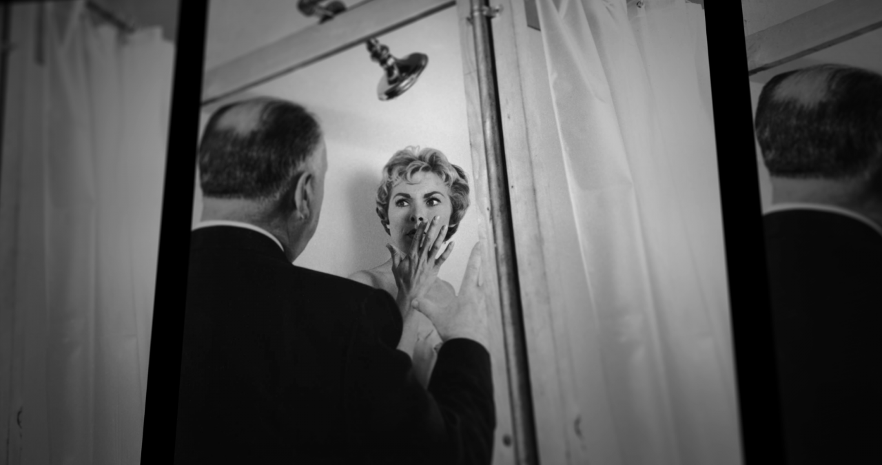 Janet Leigh and Alfred Hitchcock. Photo: Dogwoof