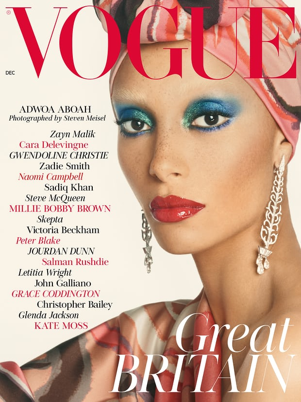 Adwoa Aboah on British Vogue Cover