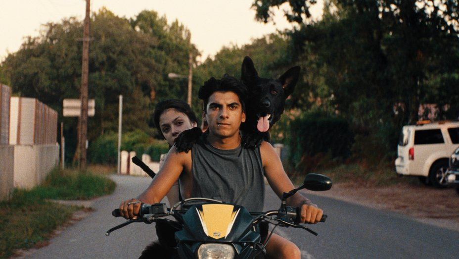 Ava and Juan ride their stolen motorbike