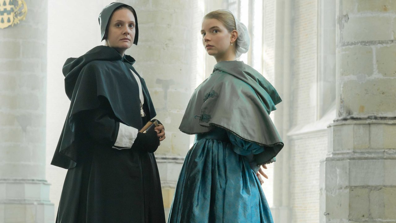 Anna Taylor-Joy and Romola Garai in The Miniaturist
