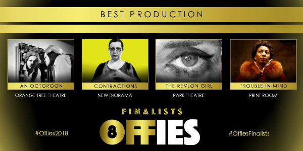 Off West End Offies 2018