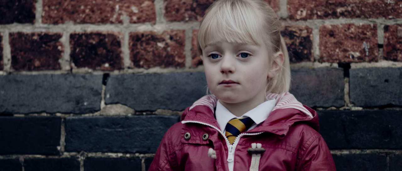 Maisie Sly as Libby in sign language film The Silent Child