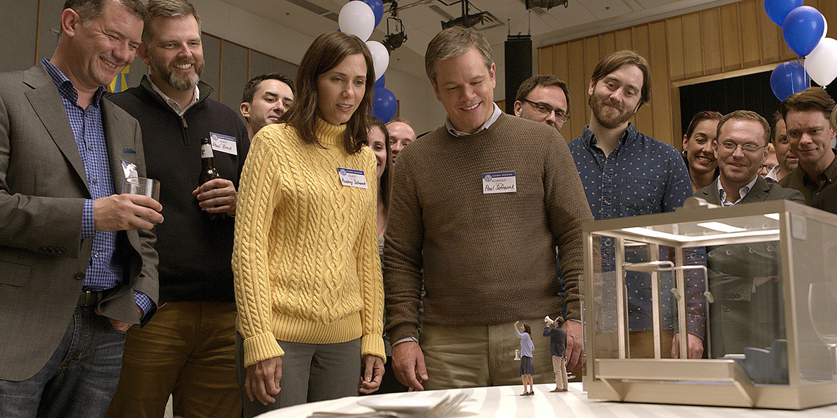 Downsizing Kristen Wiig Matt Damon Paramount Pictures