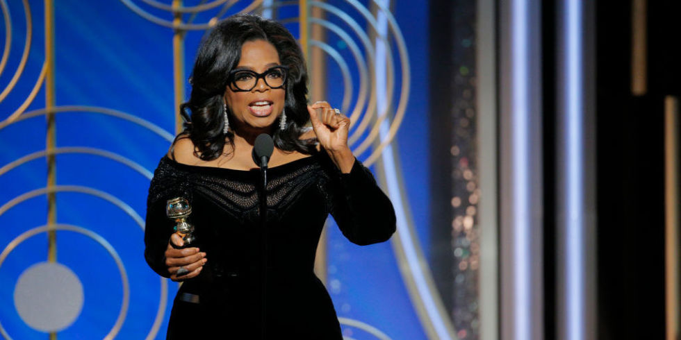 Women Oprah Winfrey Golden Globes