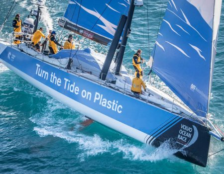 Turn the Tide on Plastic. Photo: Volvo Ocean Race