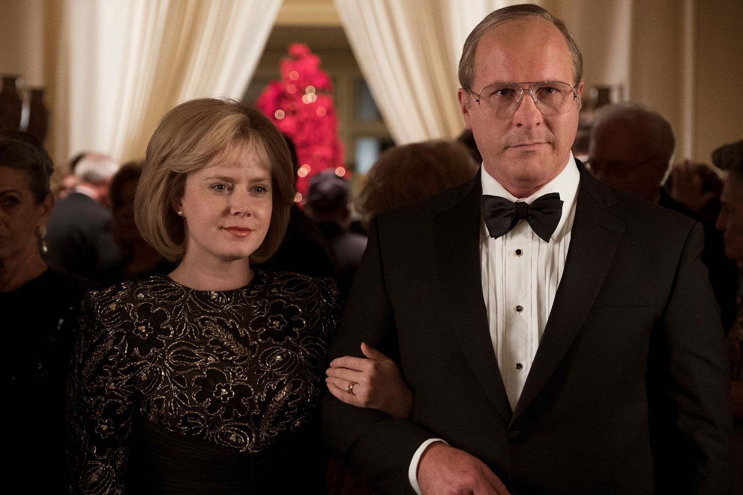 Amy Adams and Christian Bale in Vice