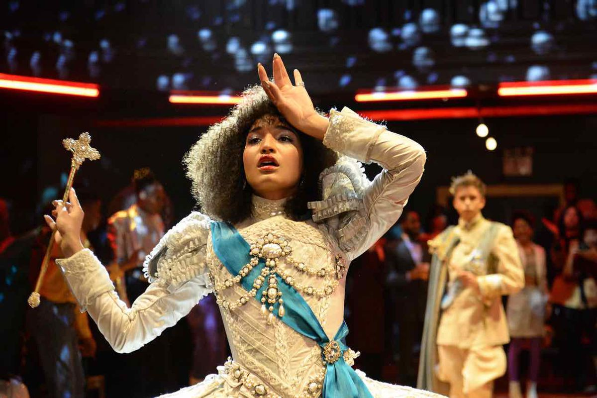 Indya-Moore in Pose